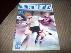 Oldham Athletic v Bristol City, 1997/98 [6 mar]